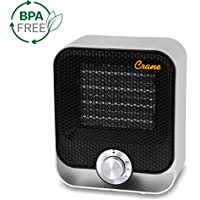 Crane USA Personal Space Heater, Black