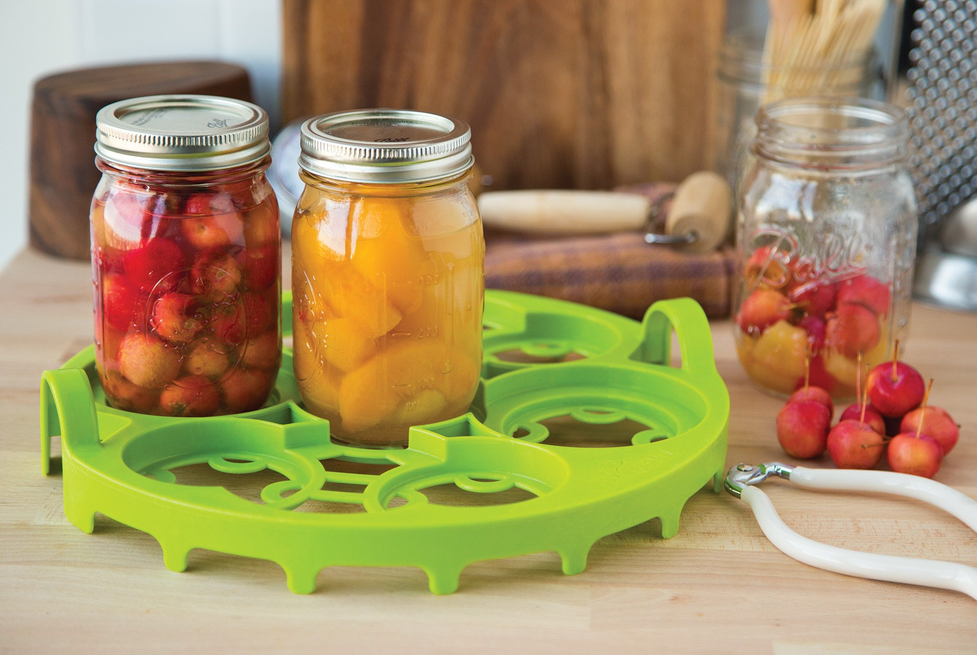 Farm to Table 52510 Dual Canning Rack, Nylon, Quart or Pint Sizes by Farm to Table (Image #2)
