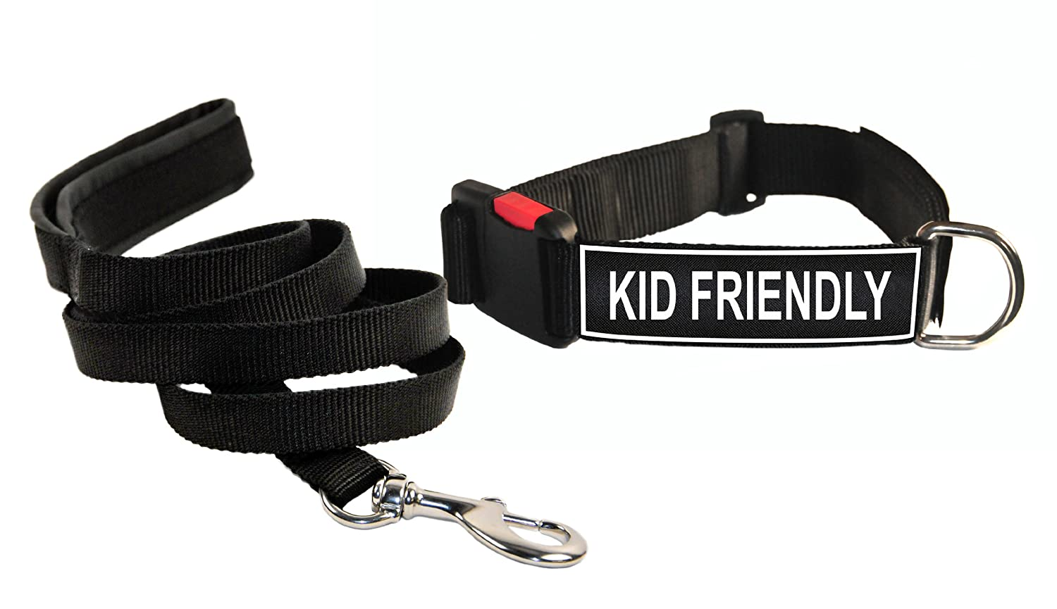 Dean & Tyler  Kid Friendly Small nero nero nero Patch Collare con Corrispondenza Imbottita Puppy guinzaglio 0d0c12