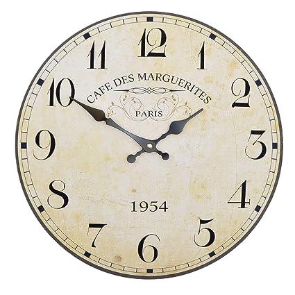 Orologio da muro - Paris 1954 - Silenzioso orologio da cucina in ...