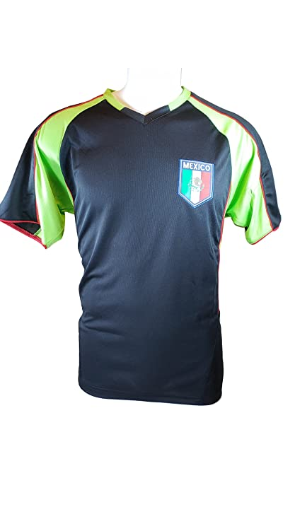 bfc47dd81c2 Mexico Soccer World Cup Adult Soccer Training Performance Jersey -P013 Large