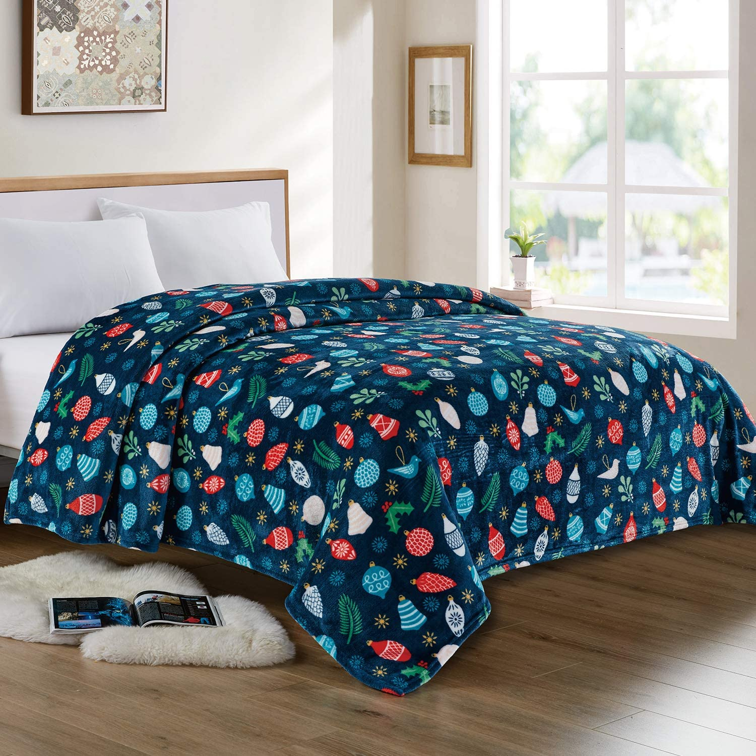 Flannel Fleece Blanket Solid Max 88% Max 65% OFF OFF Velvet Plush Bed Couch for So Throw