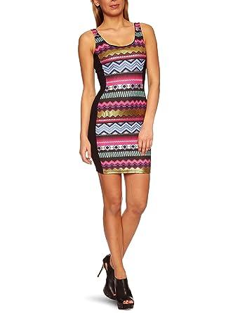 9589e0ea8c194a Lipsy JD01377 Sleeveless Women s Dress Black 6  Amazon.co.uk  Clothing