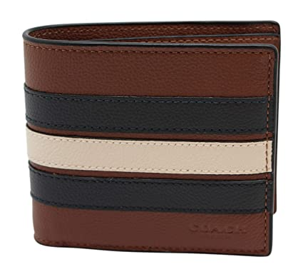 8ab831f14aa1 3-IN-1 WALLET WITH VARSITY STRIPE (COACH F24649) at Amazon Men s ...