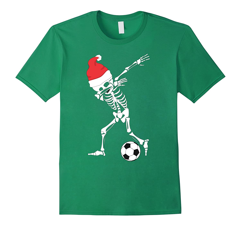 1907f5e3 Dabbing Skeleton Soccer Shirt - Dab Skull Christmas T-Shirt-ANZ ...