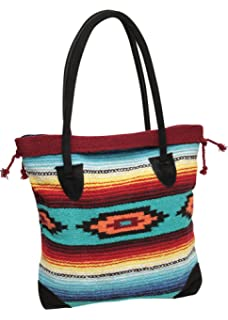 708776253be9 Amazon.com  Southwest Boutique Wool Tote Purse Bag Native American ...