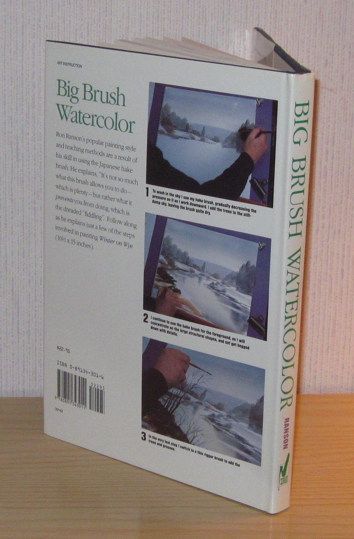 Title: Big Brush Watercolor: Amazon.es: Ron Ranson: Libros