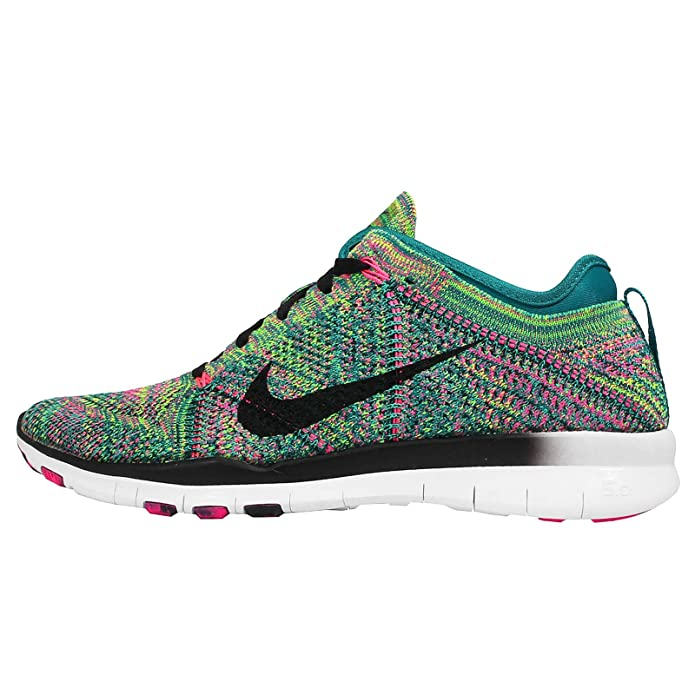 info for ecafb f358b Amazon.com   NIKE Women s WMNS Free TR Flyknit, Multicolor-Radiant Emerald  Black-Pink POW, 6 US...   Fitness   Cross-Training