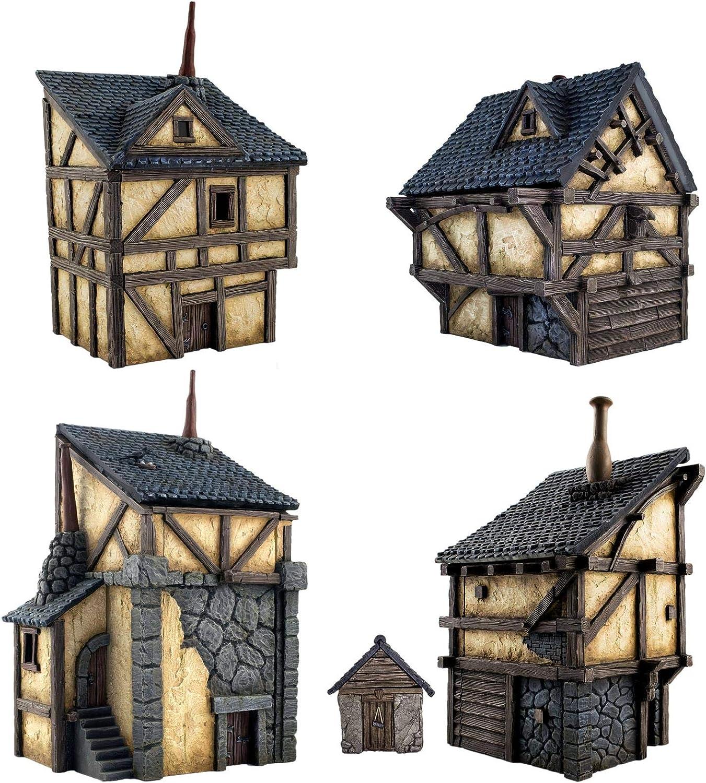 Forge de Forgeron 28mm H/éro/ïque Wargaming M/édi/éval Figurines Maquettes D/écor Paysager Mod/élisme B/âtiment Moyen /Âge War World Gaming Fantasy Village