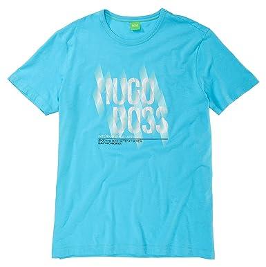 bbf4abc9cd Cotton T-shirt 'Tee 2' By Boss Green Model Tee 2 50259682 Blue (XXL ...