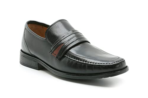 Clarks Mens 5051037734159 Aston Mind Black Leather 7