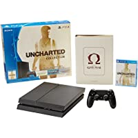 Consola PlayStation 4, 500GB + Uncharted: The Nathan Drake Collection + Libro de Arte God of War: Ascension - Bundle Edition
