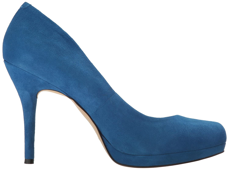Nine West Women's 7.5 Kristal Suede Dress Pump B01N75VT16 7.5 Women's B(M) US|Blue bcf7ad