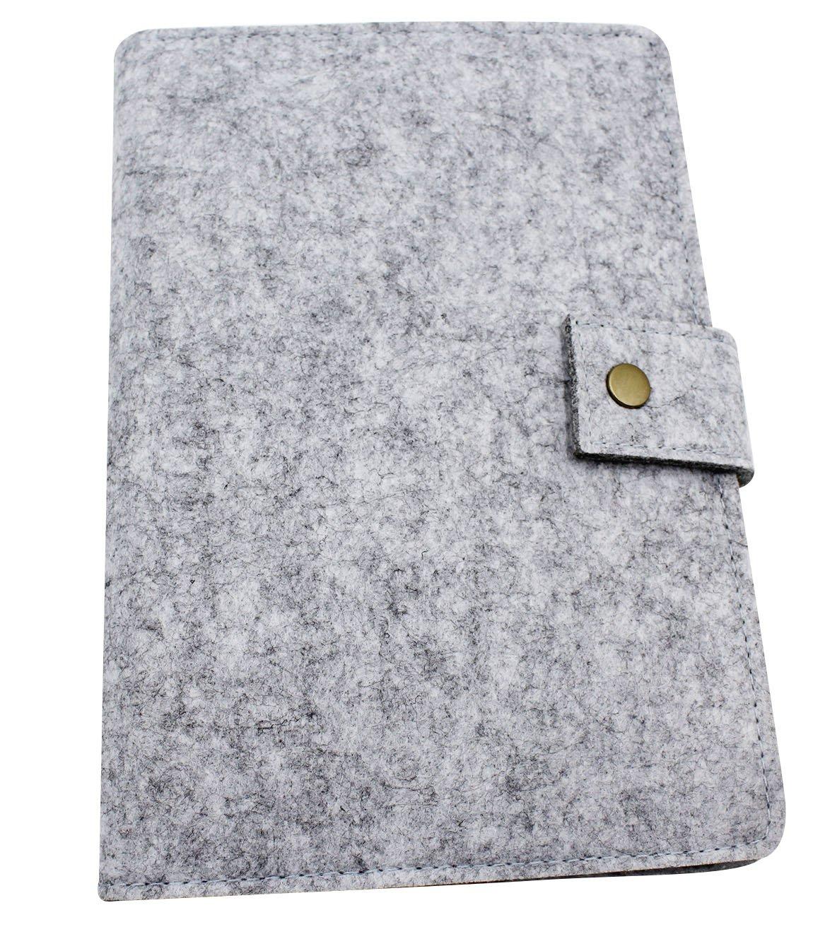 Amazon.com: A5 Fieltro de lana cubierta Business Notebook ...