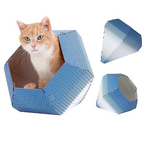 United Pets 8028945022835 Caja de Cartón para Gatos