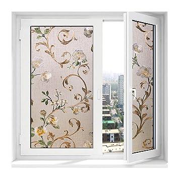 Kinlo Statisch Fensterfolie Streifen Glasdekorfolie Pvc Dekorfolie