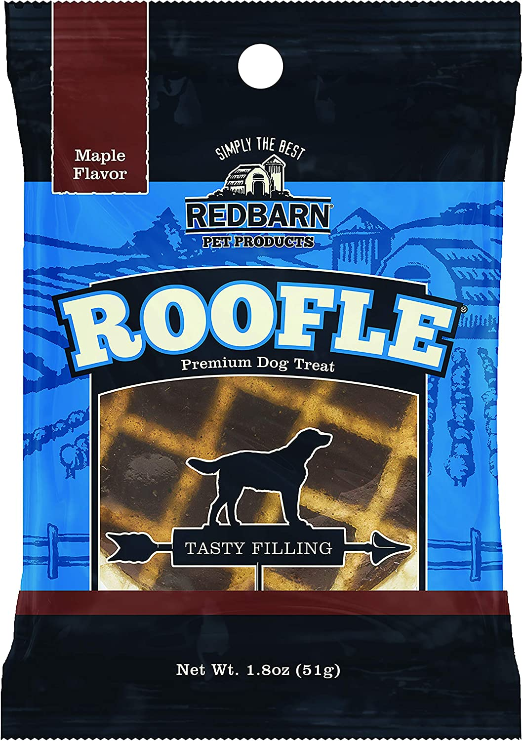Redbarn Pet Products 416095 Redb Roofle For Pets, Pack Of 50