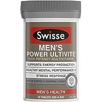 Swisse Mens Power Ultivite 40 Tablets