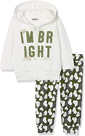 Bloomer Vichy Ensemble B/éb/é Fille MEK Compl.t-Shirt