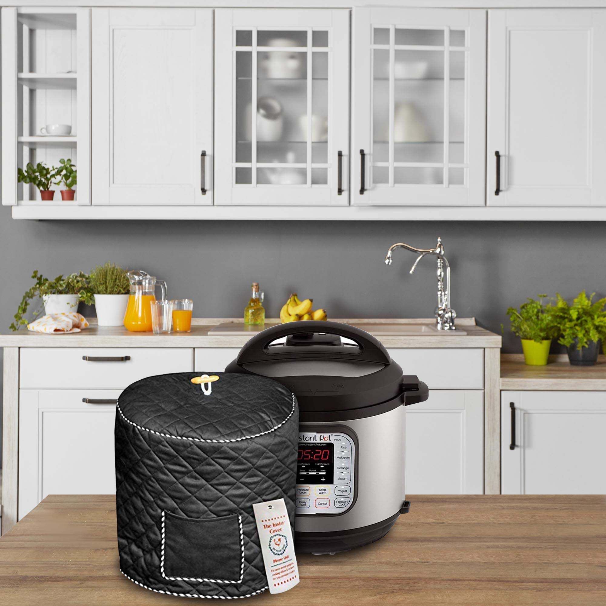 Custom Made Quilted 8 QT Pressure Cooker Cover For Use With Instant Pot Models And Compatible by Debbiedoo's