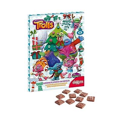 Générique Calendrier de lavent au chocolat Trolls