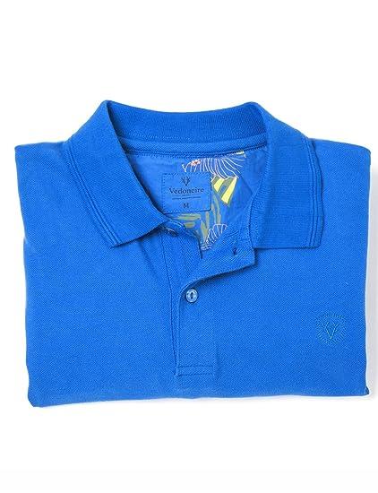 Vedoneire - Polo - Básico - para hombre azul azul L (Pecho 104 cm ...