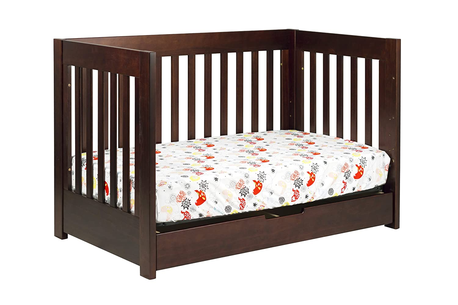 Toddler bed rails for convertible cribs - Amazon Com Babyletto Mercer 3 In 1 Convertible Crib With Toddler Bed Conversion Kit Espresso Baby