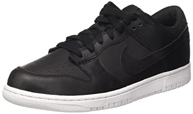 on sale cdf5b af1b4 Nike Mens Dunk Low Black Black White Skate Shoe 8 Men US