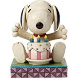 Peanuts By Jim Shore Happy Birthday Snoopy Figurine