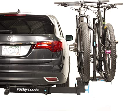 """Free Shipping Fits 2/"""" Receivers Swing Away Hitch Mount Bike Rack for 3 Bikes"""