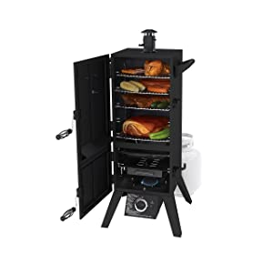 "Dyna-Glo DGY784BDP 36"" Vertical LP Gas Smoker"