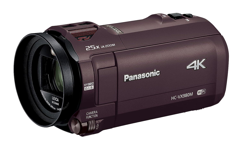 パナソニック デジタル4Kビデオカメラ VX980M 64GB あとから補正 ブラウン HC-VX980M-T  ブラウン B01ACVX8PA