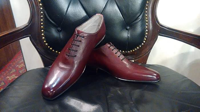 e1aa9eabd029f Amazon.com: Handmade lace up Whole Cut Oxfords and Leather Belt For Men Custom  Made Shoes for Men: Handmade