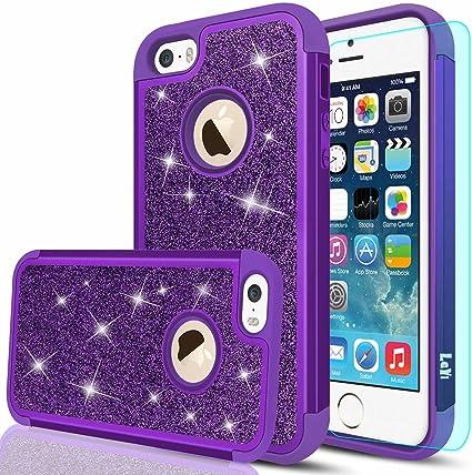 LeYi Coque pour iPhone 5S, iPhone 5, iPhone SE/SE 2 avec ...