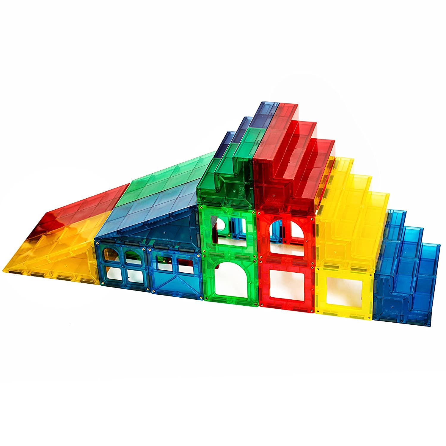Magnetic Stick N Stack 12 Piece Steps & Ramps Set Review