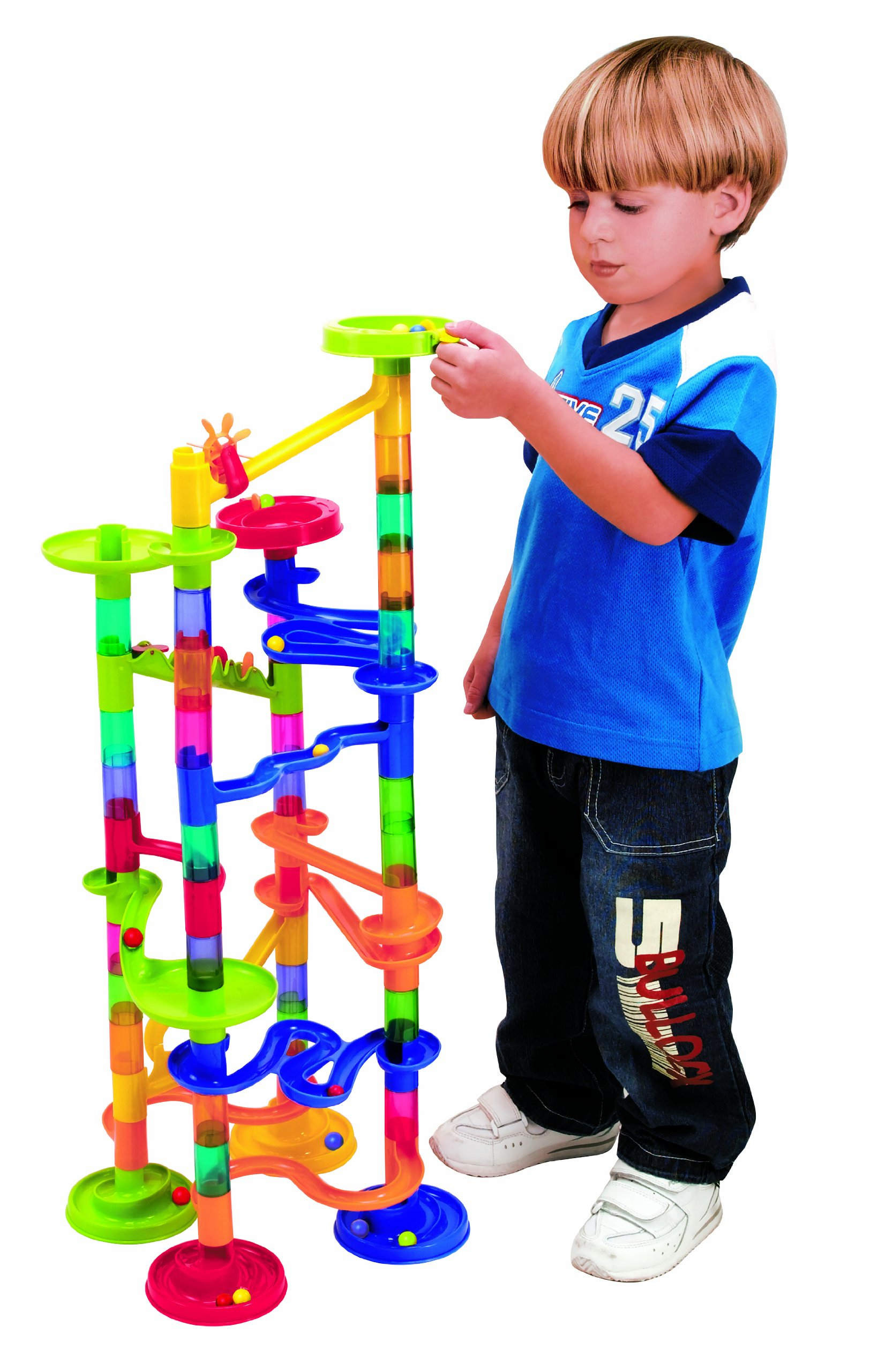 PlayGo Marble Race Deluxe Building, 100-Piece by PlayGo (Image #2)