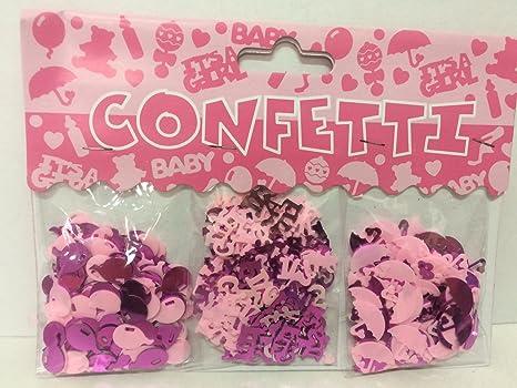 Tavolo Compleanno Bambina : Jzk 4 confezioni coriandoli rosa battesimo bambina decorazione