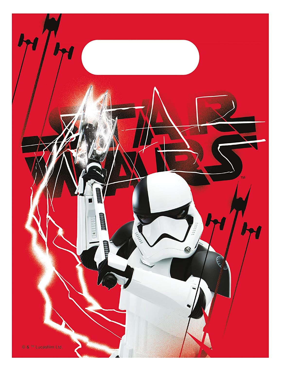 COOLMP - Lote de 6 Bolsas de Regalo Star Wars 8 The Last ...