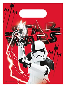 COOLMP - Lote de 6 Bolsas de Regalo Star Wars 8 The Last ...