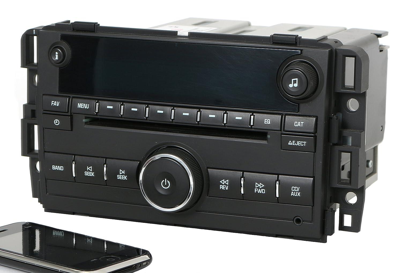 Amazon.com: 07-13 Chevy GMC Truck Van Radio AM FM CD w Bluetooth 25941137  Plastic UNLOCKED: Sports & Outdoors