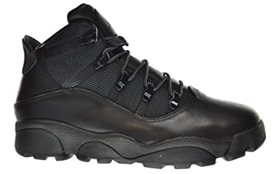 91349742e123b1 Jordan Winterized 6 Rings Men s Boots Black Rustic 414845-001 (14 D(