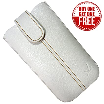 Genuine Pouch case cover for iPhone 4 4s -White