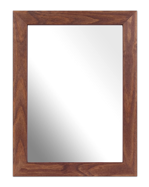 Inov8 A4 Kayla British marco de madera de espejo, de roble: Amazon ...