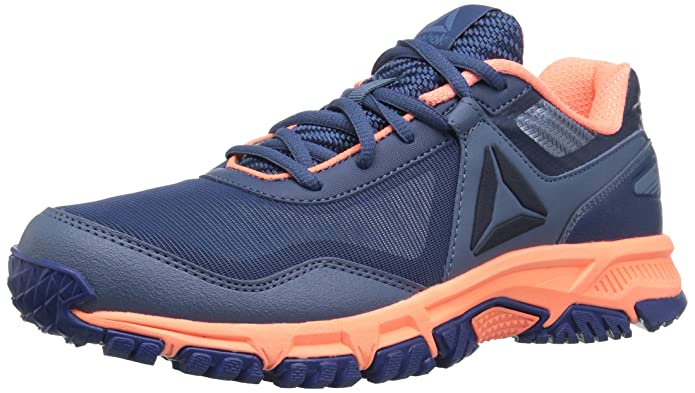 Reebok Unisex Ridgerider Trail 3.0 Sneaker, bunker blue/blue slate/di, 7 M US Little Kid