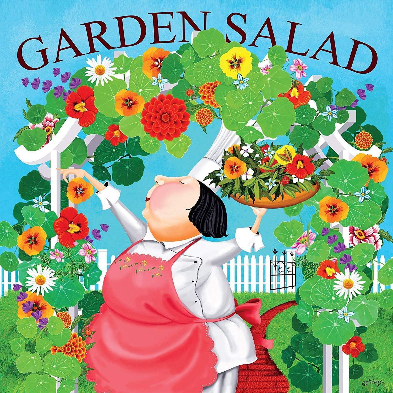 300Piece Garden Salad Puzzle Ceaco 2226-9 Bon Appetit