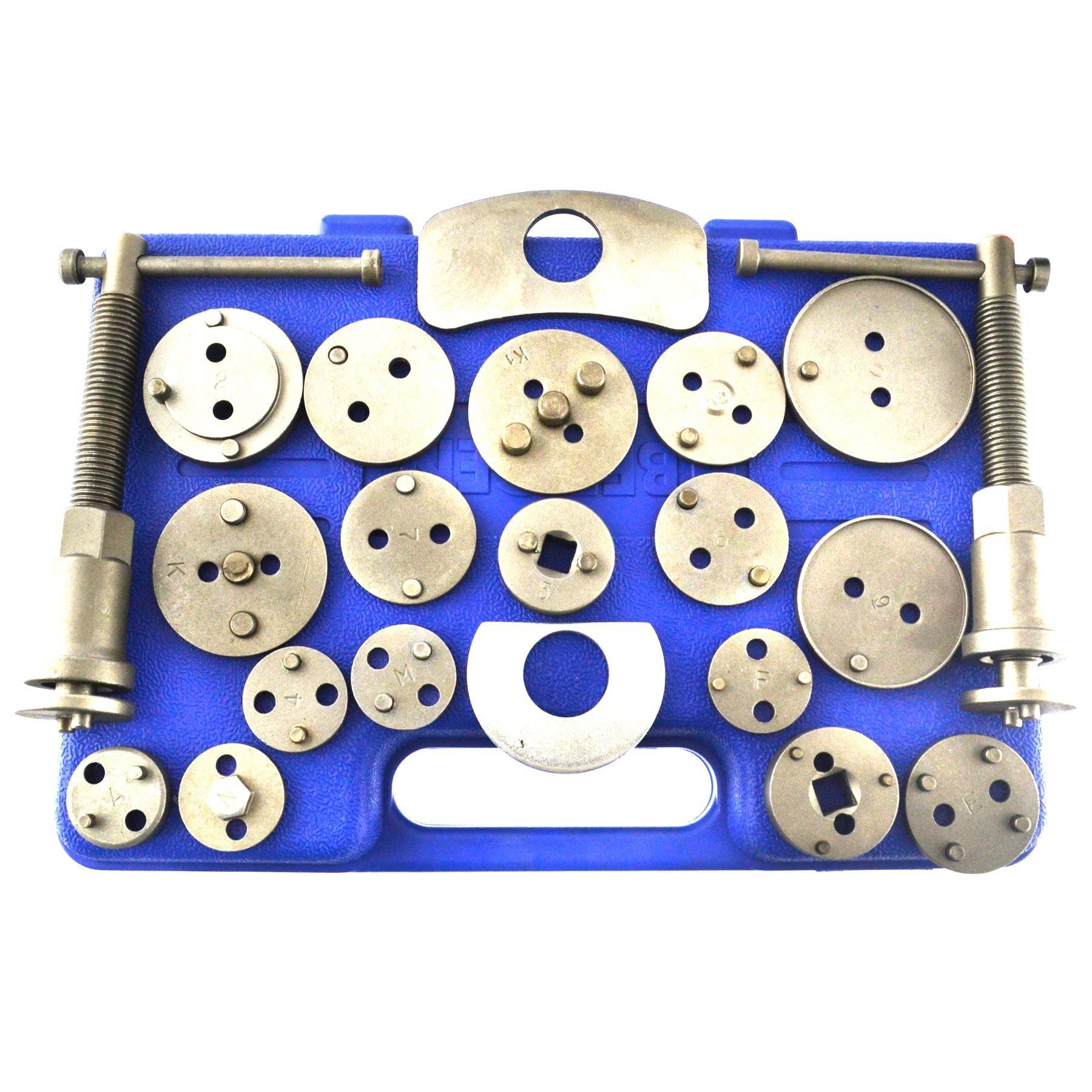 AB Tools-US Pro 21pc Left and Right Hand Brake Calliper Piston Wind Back Tool Kit AU019 by AB Tools-US Pro (Image #3)