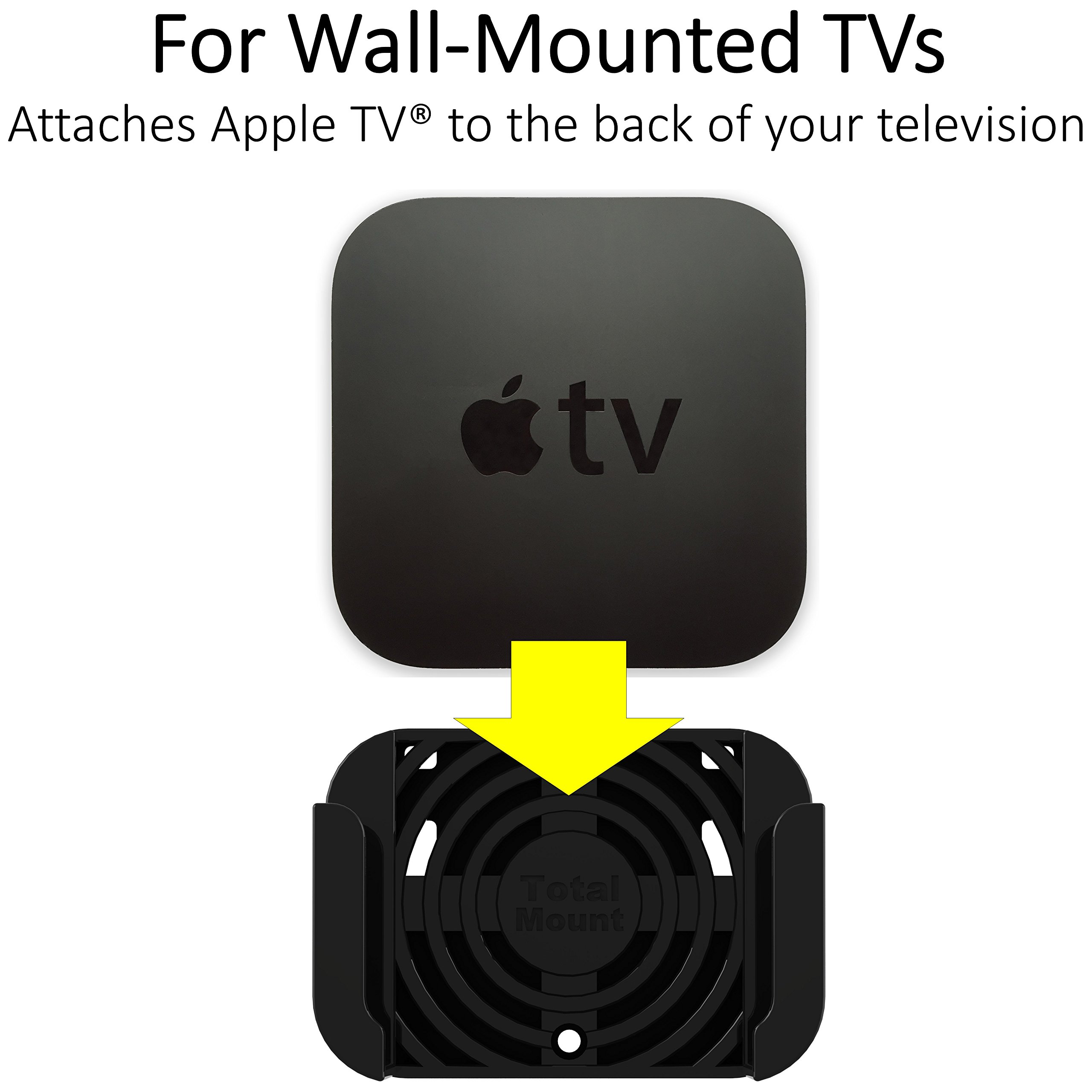 TotalMount Apple TV Mount - Compatible with all Apple TVs including Apple TV 4K by TotalMount (Image #2)