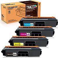 Starover TN423 TN421 Cartuchos de Tóner Compatibles para Brother TN-423 TN-421 Cartuchos de Tóner para Brother HL…