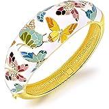 Kami Idea Brazalete, Primavera de Versalles, Mariposa Exquisito Esmalte, Embalaje de Regalo, Regalos para Mamá