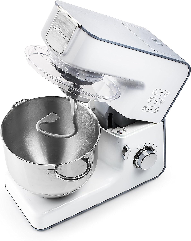 Tristar MX-4185 Robot de Cocina, 1000 W, 1.5 litros, Vidrio, 8 ...